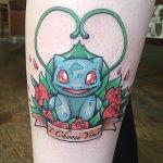 Why people get Pokemon tattoos on their body? 150