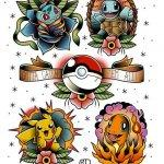 Why people get Pokemon tattoos on their body? 171