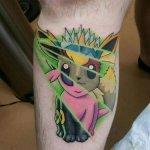 Why people get Pokemon tattoos on their body? 180