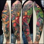 Ink the Avengers tattoos on your body and have the Superpowers 23