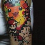 Why people get Pokemon tattoos on their body? 192