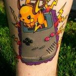 Why people get Pokemon tattoos on their body? 193
