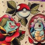 Why people get Pokemon tattoos on their body? 194