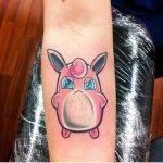 Why people get Pokemon tattoos on their body? 195