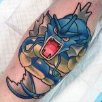 Why people get Pokemon tattoos on their body? 1