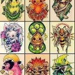 Why people get Pokemon tattoos on their body? 198
