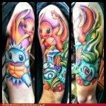 Why people get Pokemon tattoos on their body? 204