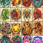 Why people get Pokemon tattoos on their body? 21