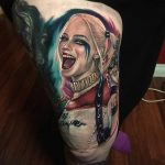 harley quinn tattoo