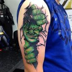 Ink the Avengers tattoos on your body and have the Superpowers 9