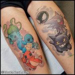 Why people get Pokemon tattoos on their body? 64