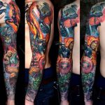 Ink the Avengers tattoos on your body and have the Superpowers 7