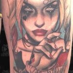 The Current Trend of Making Harley Quinn Tattoo 19