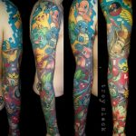 Why people get Pokemon tattoos on their body? 67