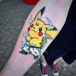 Why people get Pokemon tattoos on their body? 68
