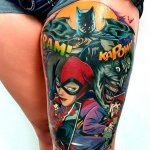 The Current Trend of Making Harley Quinn Tattoo 63