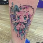 Why people get Pokemon tattoos on their body? 70