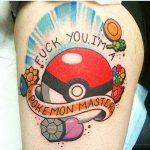 Why people get Pokemon tattoos on their body? 76