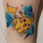 Why people get Pokemon tattoos on their body? 9