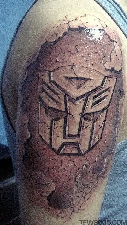 Getting a Transformers tattoo after watching the films 7