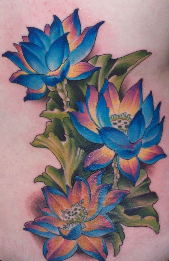 Lotus Flower Tattoo meaning and symbolism 2