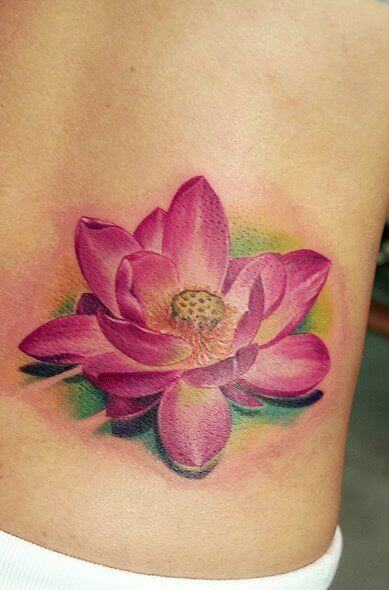 Lotus Flower Tattoo meaning and symbolism 1