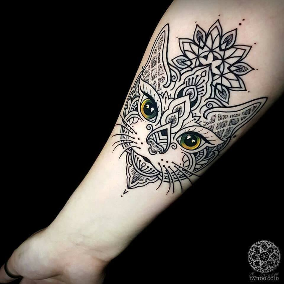 The most loved cat tattoos ideas ever! 3