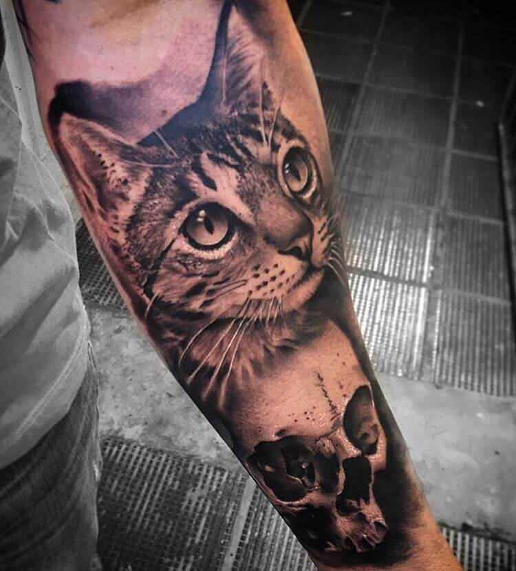 The most loved cat tattoos ideas ever! 4
