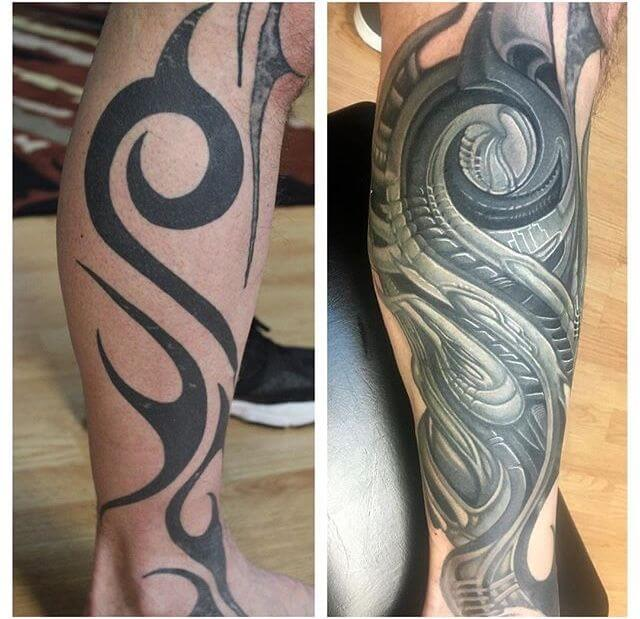 Smart tattoo cover up ideas that will amaze you 6