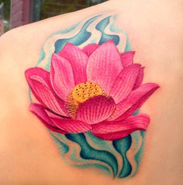 Lotus Flower Tattoo meaning and symbolism 13