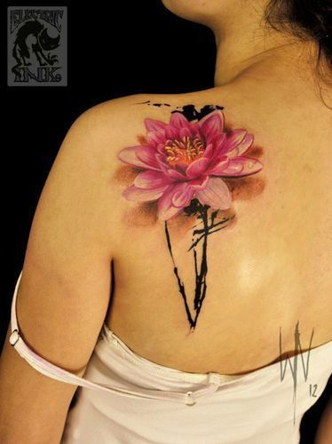 Lotus Flower Tattoo meaning and symbolism 7
