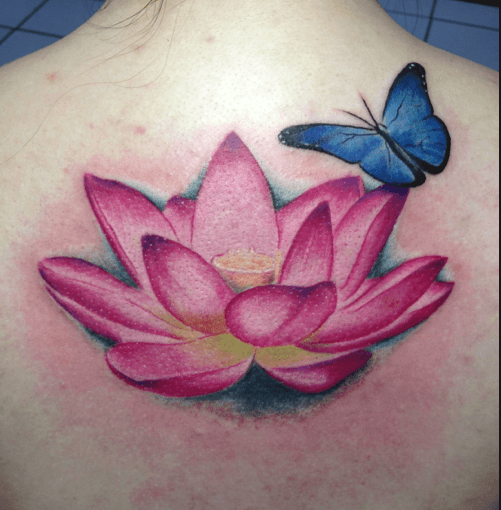 Lotus Flower Tattoo meaning and symbolism 9