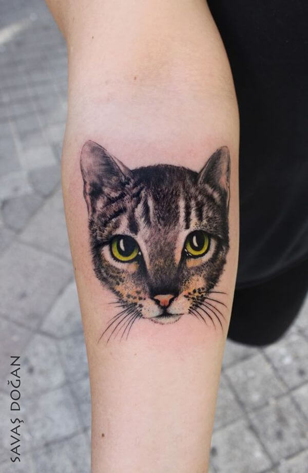 The most loved cat tattoos ideas ever! 13