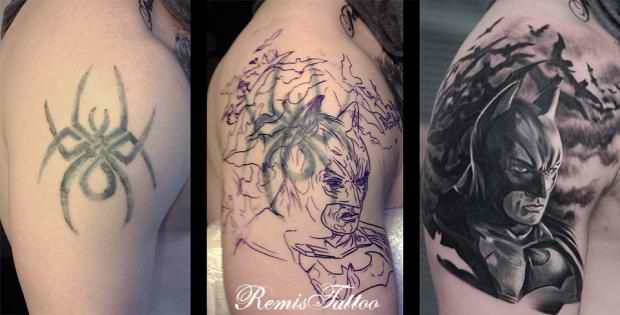 Smart tattoo cover up ideas that will amaze you 13