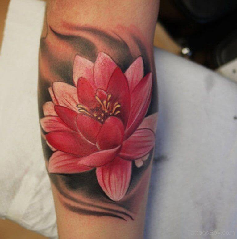 Lotus Flower Tattoo meaning and symbolism 10