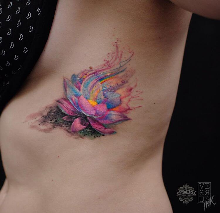 Lotus Flower Tattoo meaning and symbolism 11