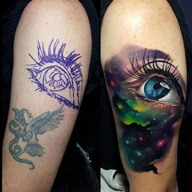 Smart tattoo cover up ideas that will amaze you 23