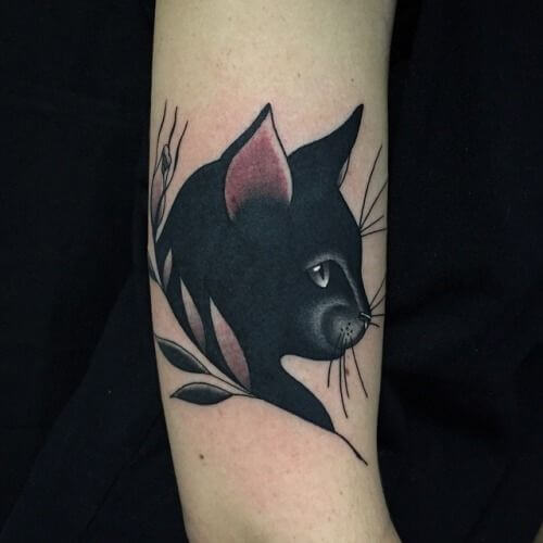 The most loved cat tattoos ideas ever! 18