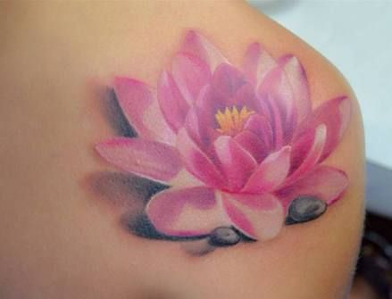 Lotus Flower Tattoo meaning and symbolism 4