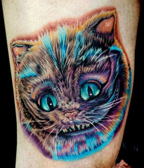Disney Cat tattoo