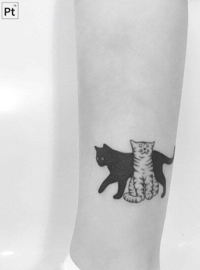 Pet's portrait tattoo ideas