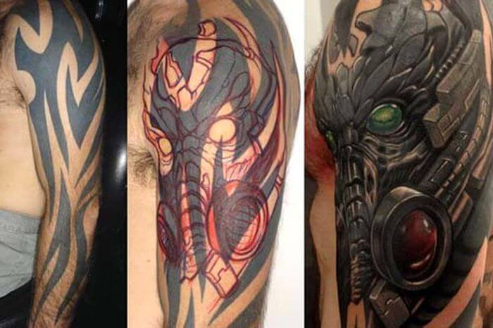 Smart tattoo cover up ideas that will amaze you 36