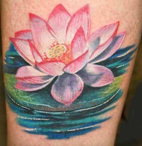 Lotus Flower Tattoo meaning and symbolism 15