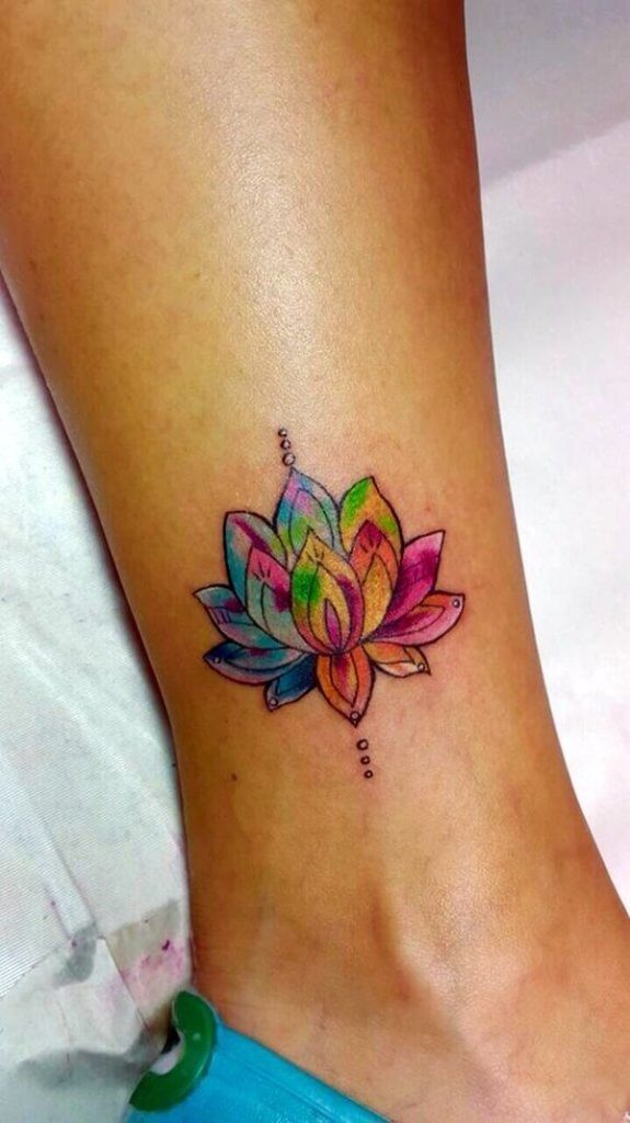 Lotus Flower Tattoo meaning and symbolism 14