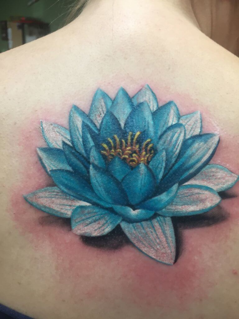 Lotus Flower Tattoo meaning and symbolism 17