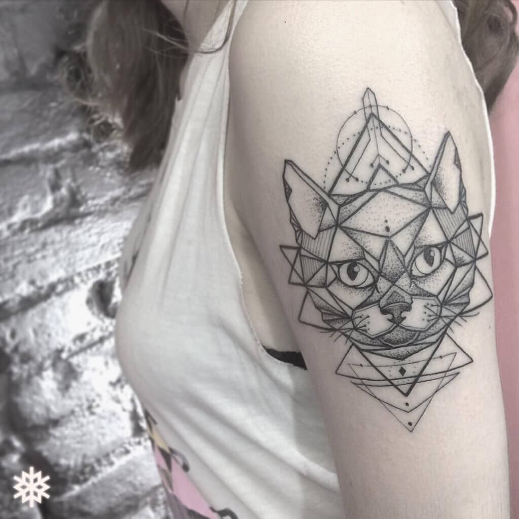 The most loved cat tattoos ideas ever! 22