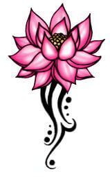Lotus Flower Tattoo meaning and symbolism 18