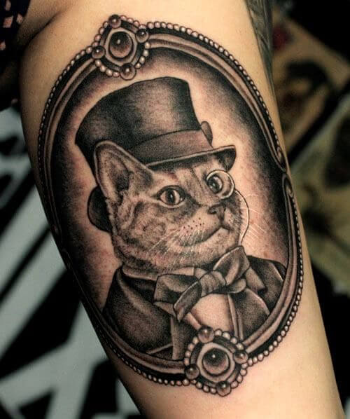 The most loved cat tattoos ideas ever! 24