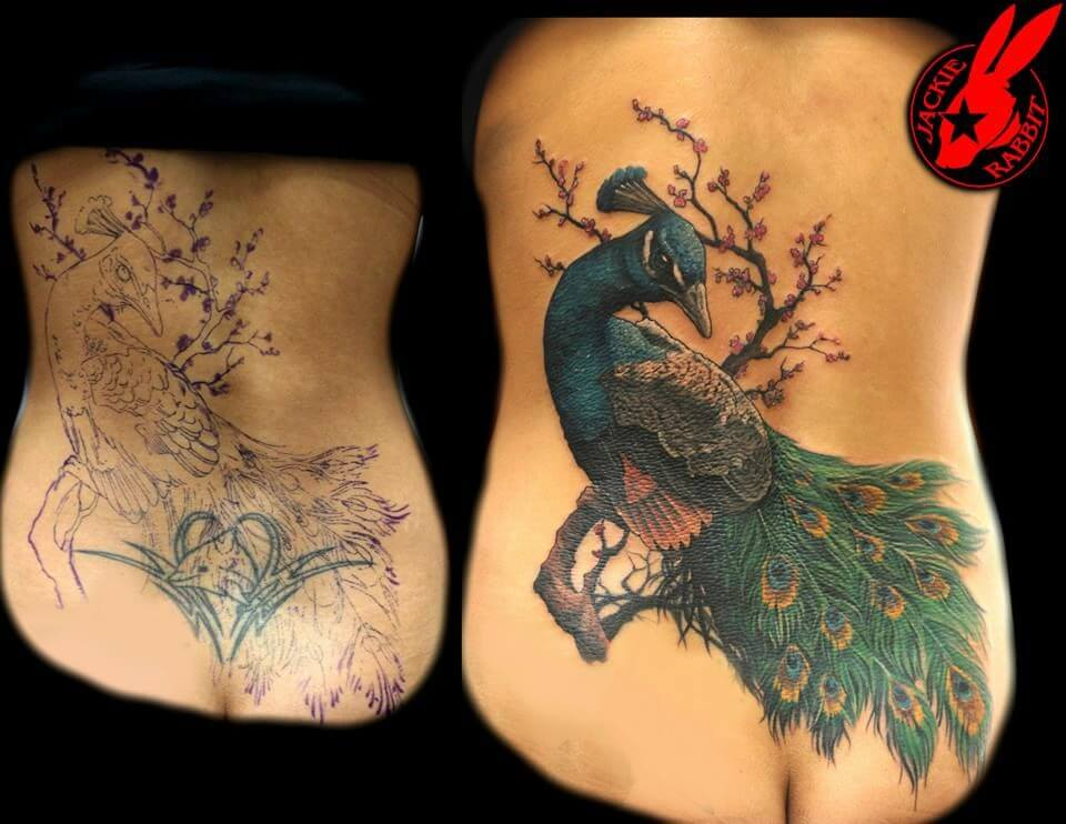 Smart tattoo cover up ideas that will amaze you 43