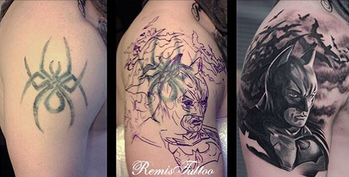 Smart tattoo cover up ideas that will amaze you 45